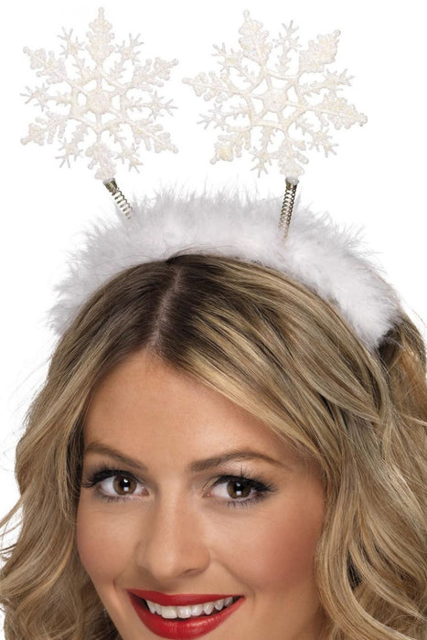 Snowflake Head Boppers - The Ultimate Party Shop