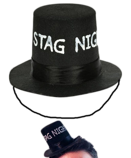 Stag Night Mini Top Hat - The Ultimate Party Shop