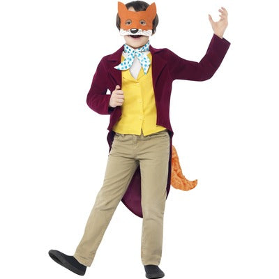 Roald Dahl Fantastic Mr Fox Children's Costume - The Ultimate Balloon & Party Shop