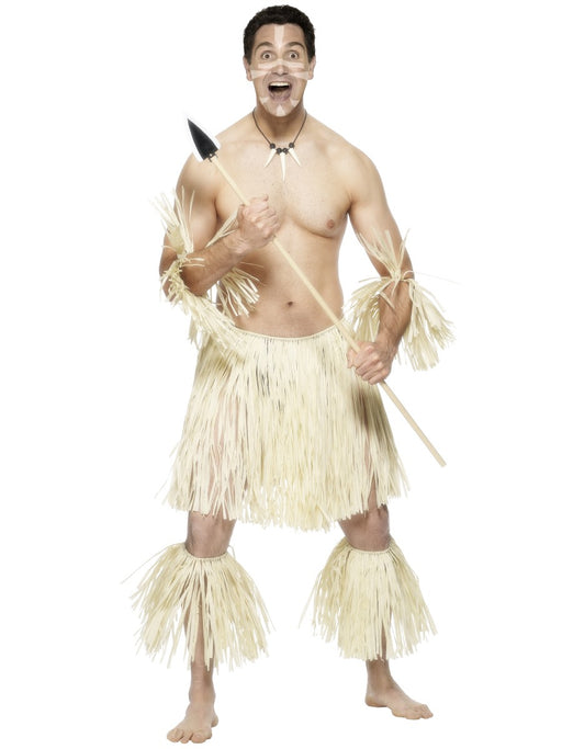 Zulu Warrior Costume Set - The Ultimate Party Shop
