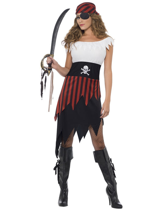 Pirate Wench Female Costume - The Ultimate Party Shop