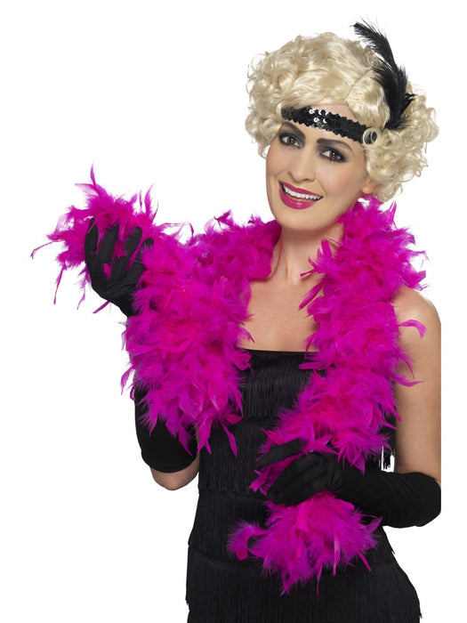 Feather Boa - Pink - The Ultimate Balloon & Party Shop
