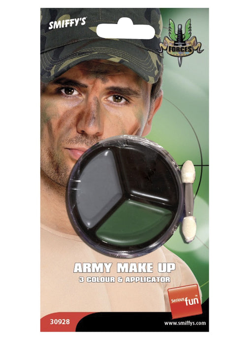 Army Camo Face Paint Set - The Ultimate Party Shop
