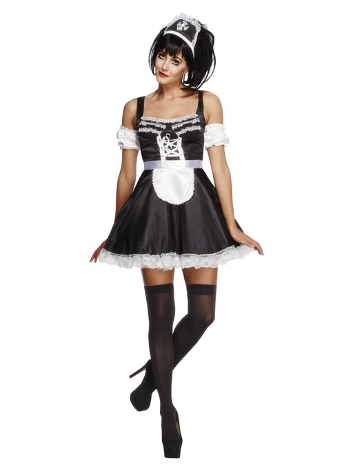 Flirty French Maid (Fever) Costume - The Ultimate Balloon & Party Shop