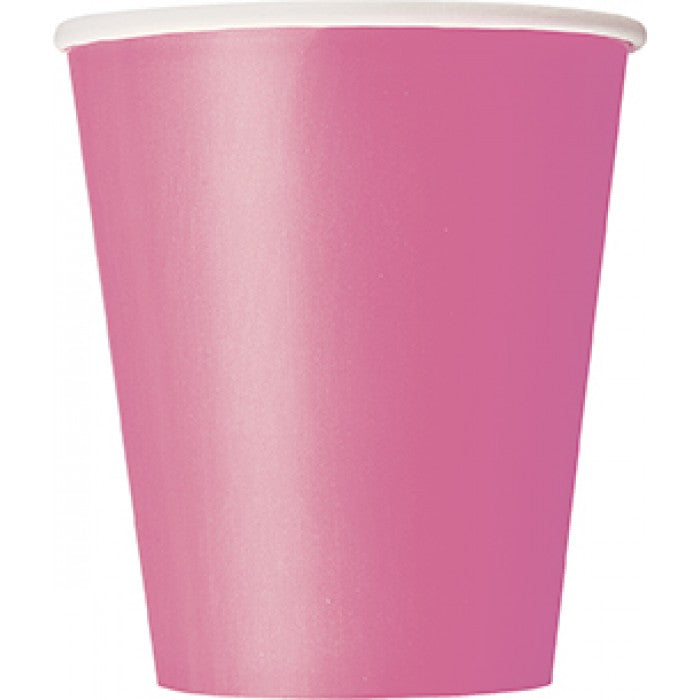 Paper Cups - Pink - The Ultimate Balloon & Party Shop