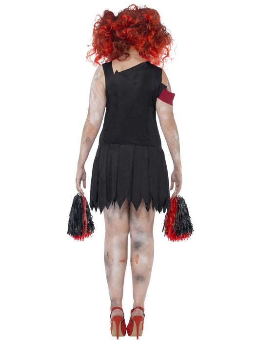 Zombie Cheerleader Female Costume - The Ultimate Balloon & Party Shop