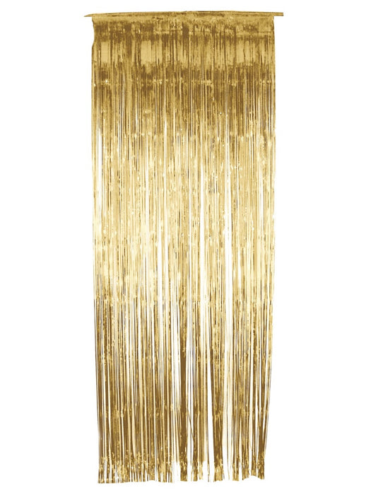 Tinsel Curtain - Gold