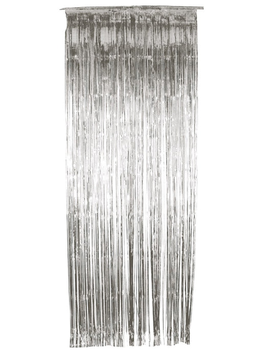 Tinsel Curtain - Silver