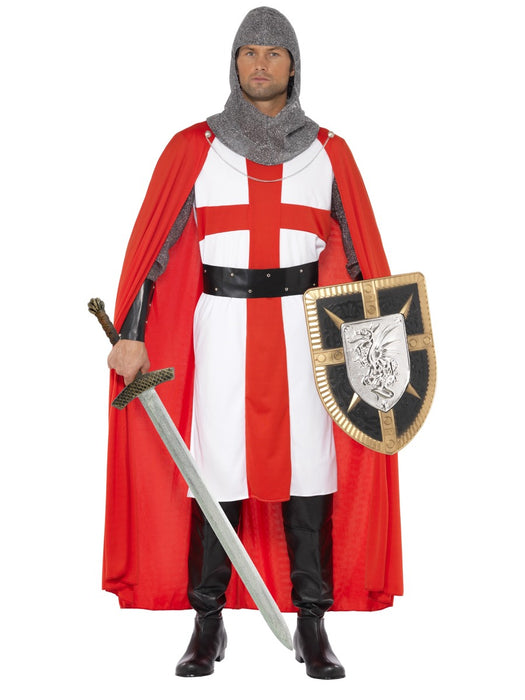 St George Crusader/Knight Costume - The Ultimate Party Shop