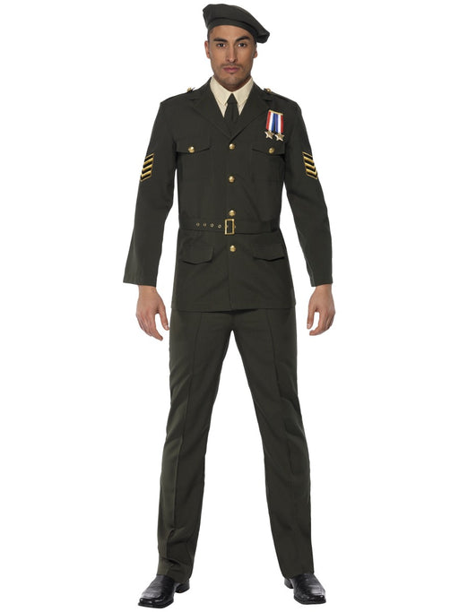1940's Wartime Officer Costume - The Ultimate Balloon & Party Shop