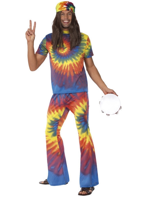 1960's Tie Dye Male Costume - The Ultimate Party Shop