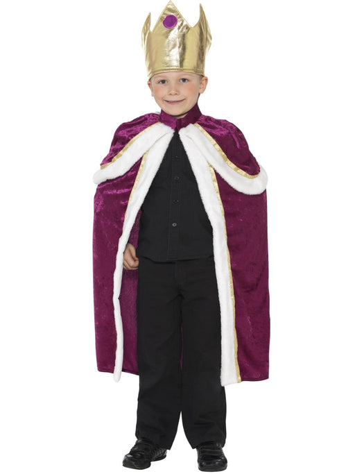 Kiddy King Child's Costume - The Ultimate Party Shop