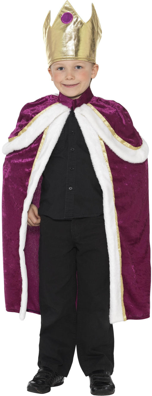 Child's Kiddy King Costume - The Ultimate Party Shop