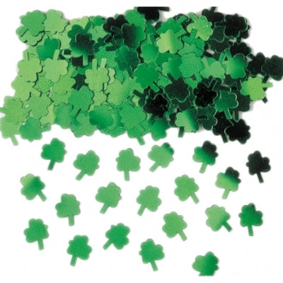 Shamrock (St Patricks Day) Table Confetti - The Ultimate Party Shop