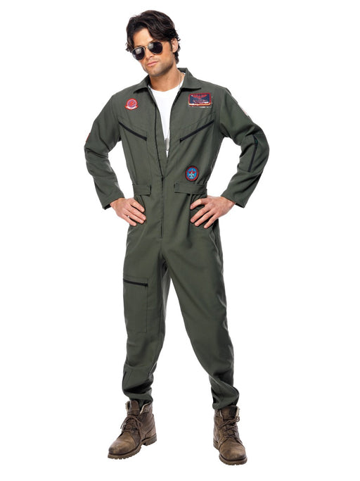 Top Gun Jumpsuit Costume - The Ultimate Party Shop