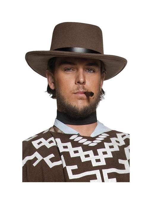 Cowboy Brown Gunman Hat - The Ultimate Party Shop