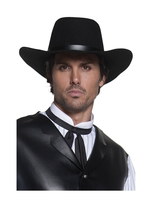 Cowboy Black Gunman Hat - The Ultimate Party Shop