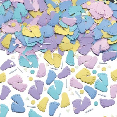 Baby Shower Table Confetti