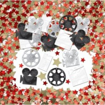 Hollywood Table Confetti - The Ultimate Party Shop
