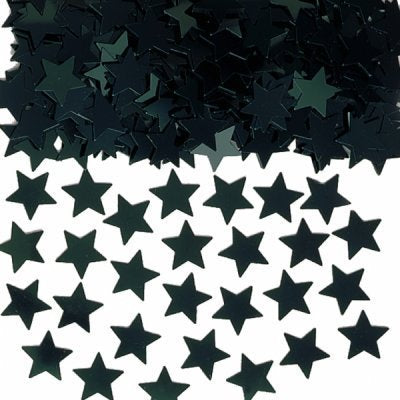 Black Star Table Confetti