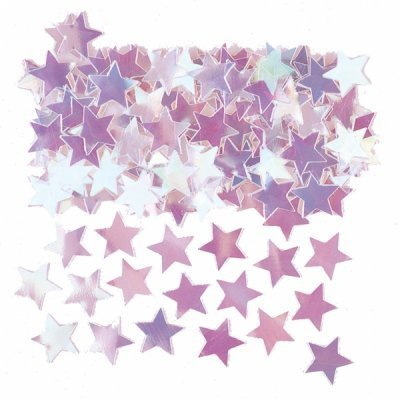 Iridescent Star Table Confetti - The Ultimate Party Shop