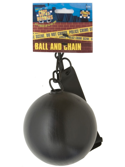 Plastic Ball & Chain - The Ultimate Party Shop