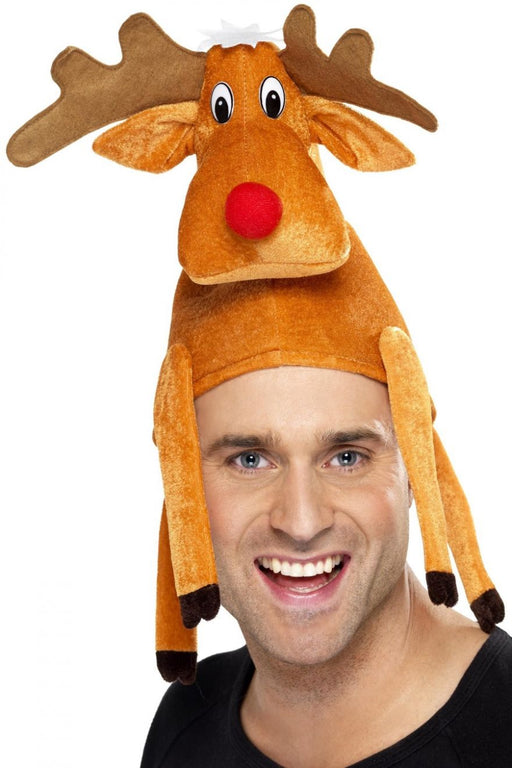 Christmas Reindeer Hat - The Ultimate Balloon & Party Shop