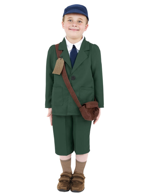 WW2 Evacuee Boy Children's Costume - The Ultimate Balloon & Party Shop