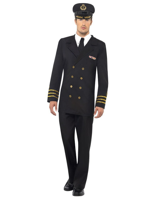 Navy Officer Costume - The Ultimate Balloon & Party Shop