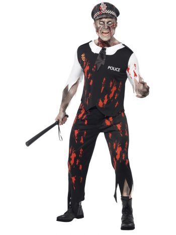 Zombie Policeman Costume - The Ultimate Balloon & Party Shop