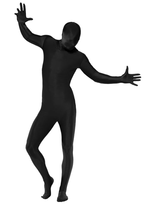Second Skin Suit (Black) Costume - The Ultimate Party Shop
