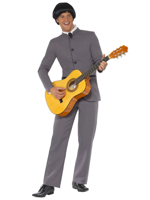 1960's Fab Four Grey Suit Costume - The Ultimate Party Shop