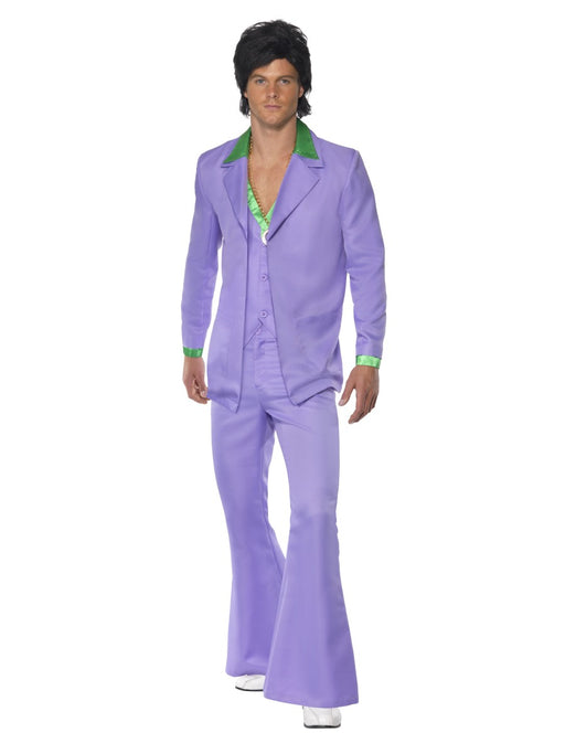 1970's Suit - Purple Prince Costume - The Ultimate Balloon & Party Shop