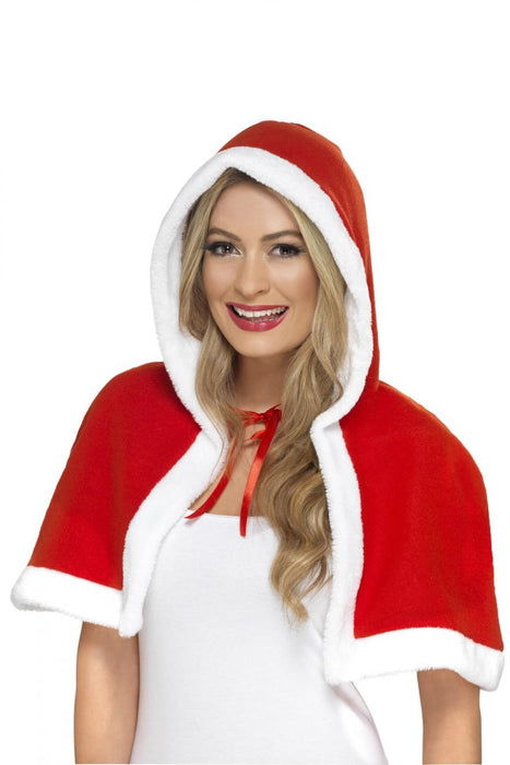 Miss Clause Mini Cape - The Ultimate Party Shop