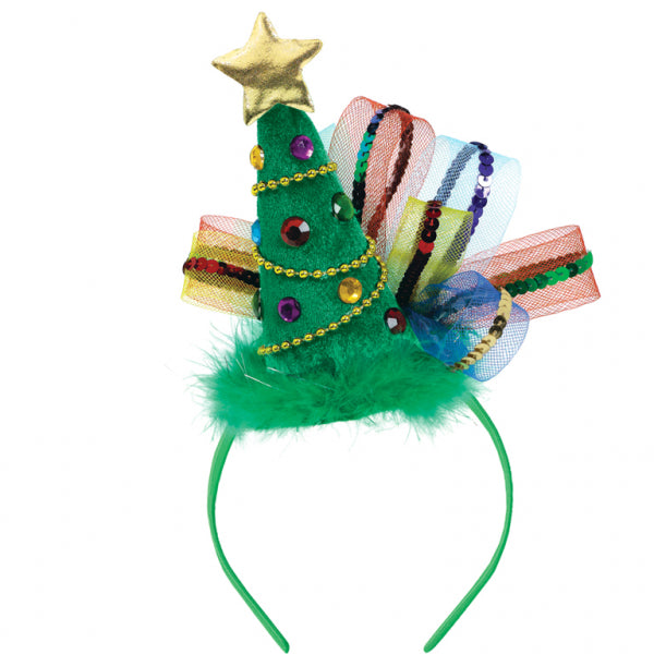 Christmas Tree Headband - The Ultimate Balloon & Party Shop