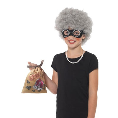 David Walliams Gangsta Granny Kit Costume - The Ultimate Balloon & Party Shop