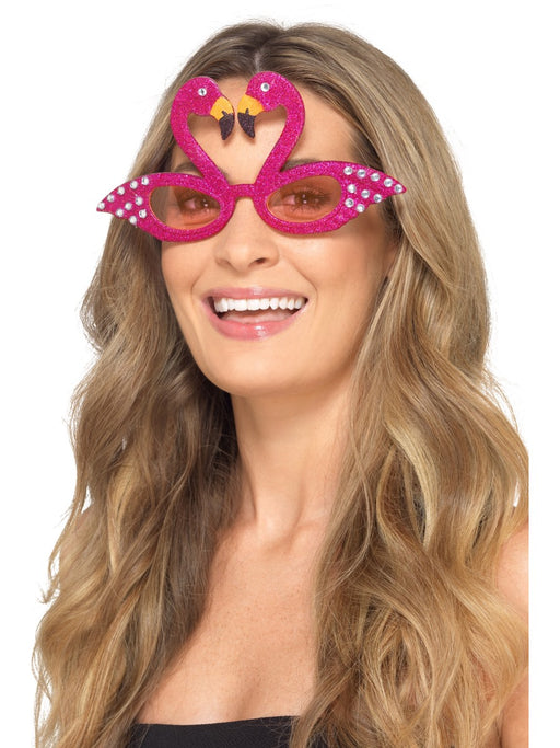Flamingo Pink Sunglasses - The Ultimate Balloon & Party Shop