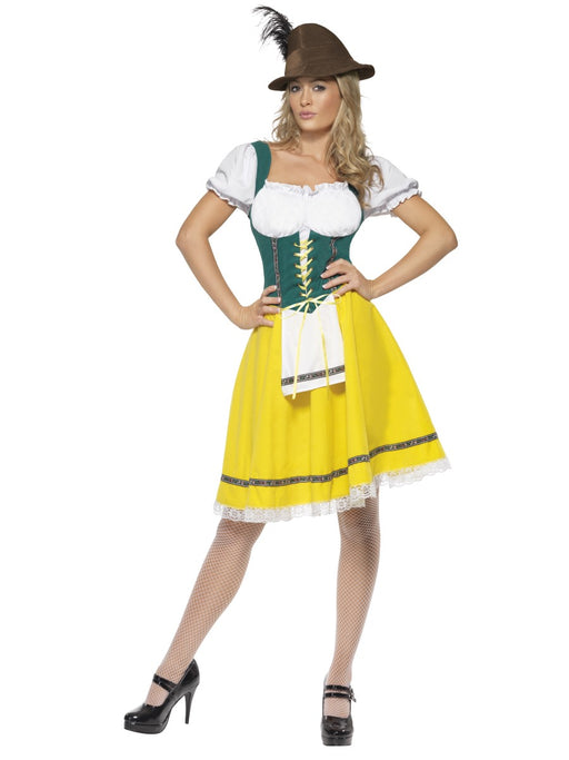 Oktoberfest (Yellow) Female Costume - The Ultimate Party Shop