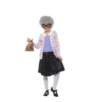 David Walliams Gangsta Granny Children's Costume - The Ultimate Balloon & Party Shop