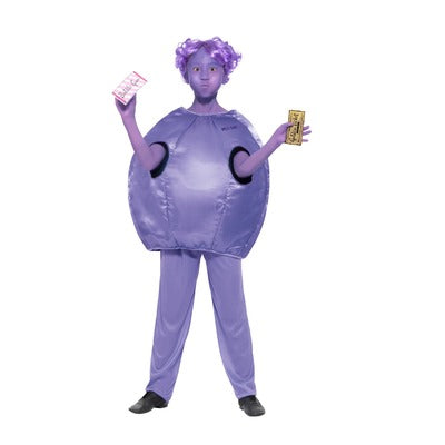Roald Dahl Violet Beauregarde Children's Costume - The Ultimate Balloon & Party Shop