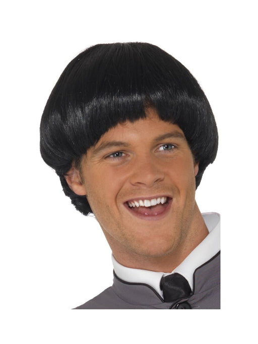 1960's's Bowl Male Wig - The Ultimate Party Shop
