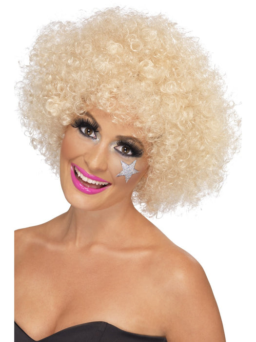 1970's Afro Blonde Wig - The Ultimate Balloon & Party Shop