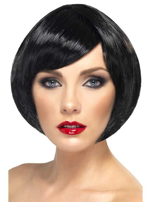 Babe Black Female Wig - The Ultimate Party Shop