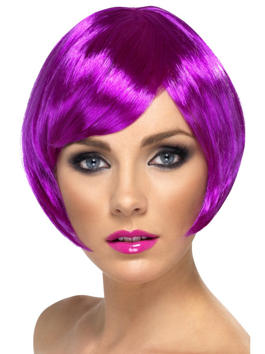 Babe Purple Female Wig - The Ultimate Party Shop