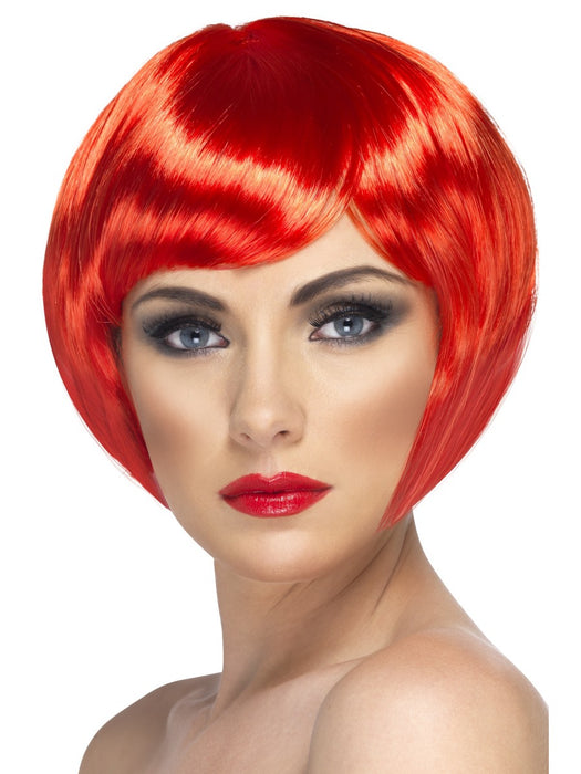 Babe Red Female Wig - The Ultimate Balloon & Party Shop