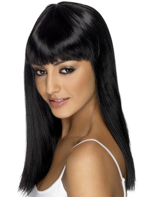 Glamourama Black Female Wig