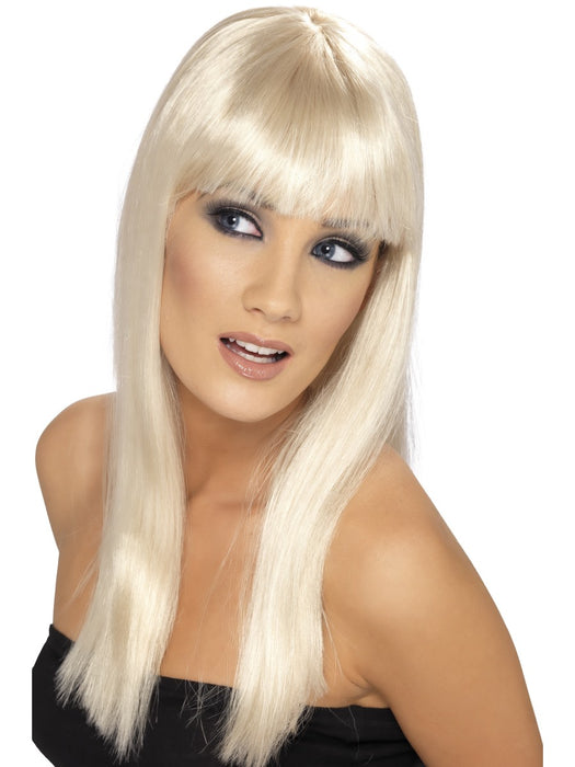 Glamourama Blonde Female Wig - The Ultimate Party Shop