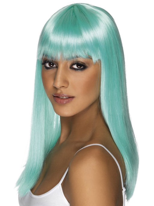 Glamourama Aqua Female Wig - The Ultimate Balloon & Party Shop