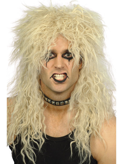 1980's Rocker Blonde Wig - The Ultimate Balloon & Party Shop