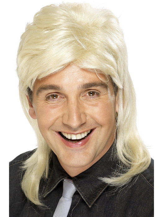 1980's Mullet Blonde Wig - The Ultimate Party Shop